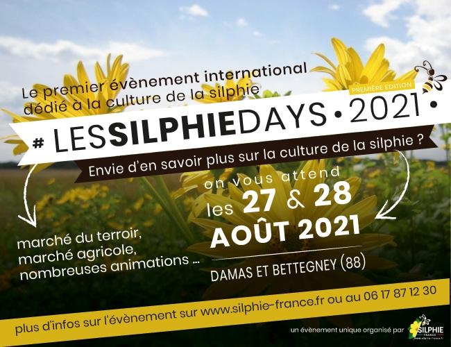 Salon Silphie Days 27-28/08/2021