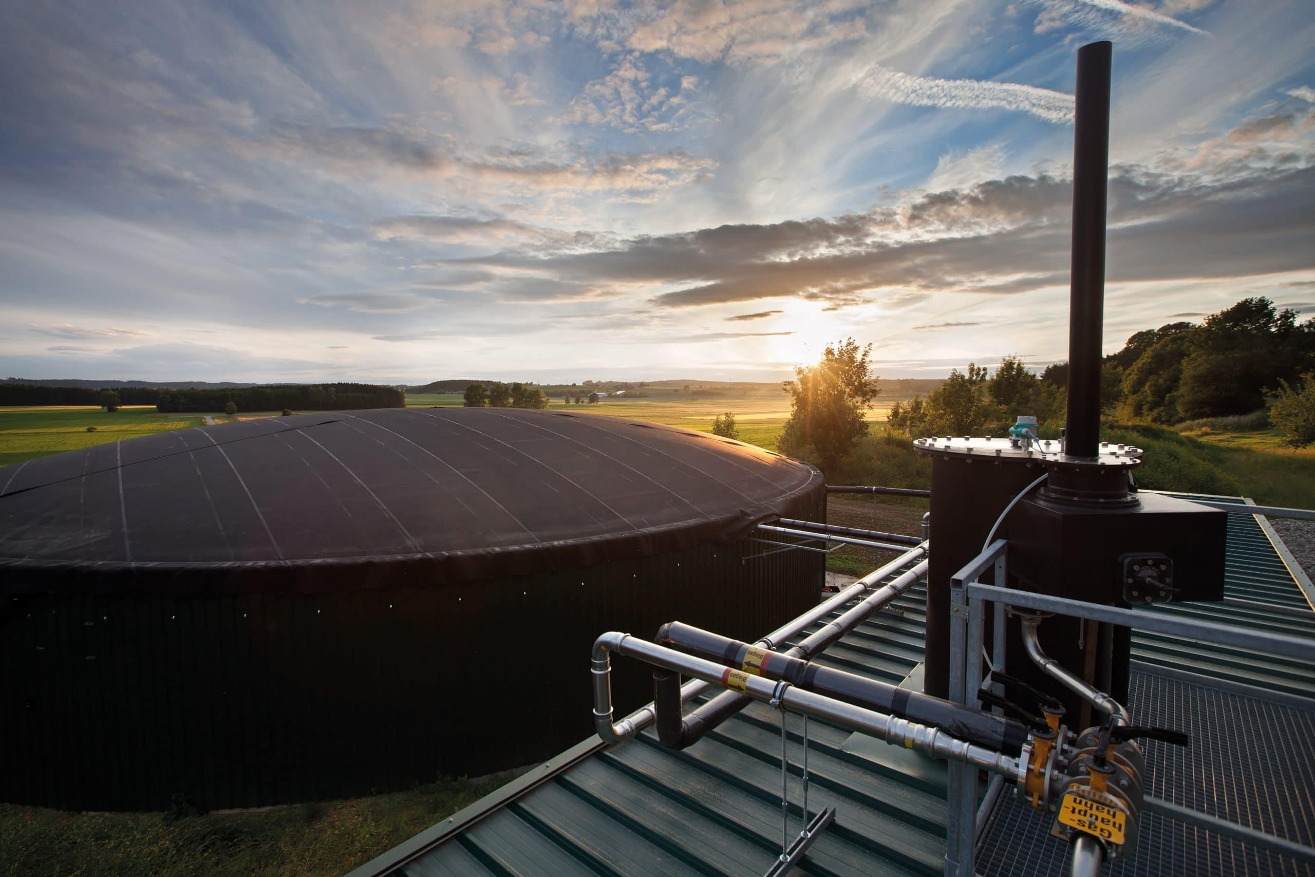 agriKomp Biogasanlage Biogastechnik CHP