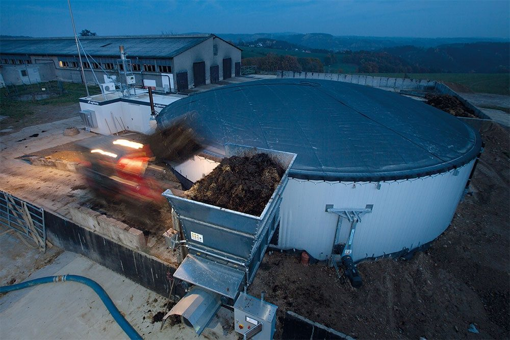 agriSelect Biogas Plant in Zeulenroda, Germany