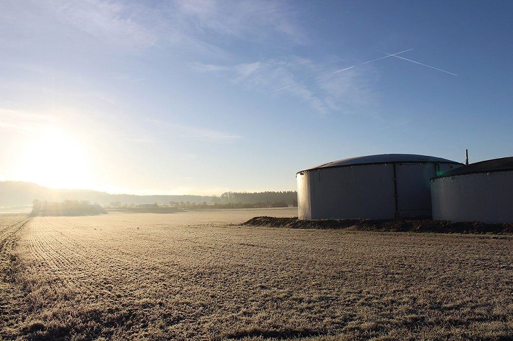 agriSelect Biogas Plant in Prichsenstadt, Germany