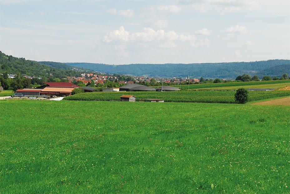 Individualanlage in Urbach, Deutschland