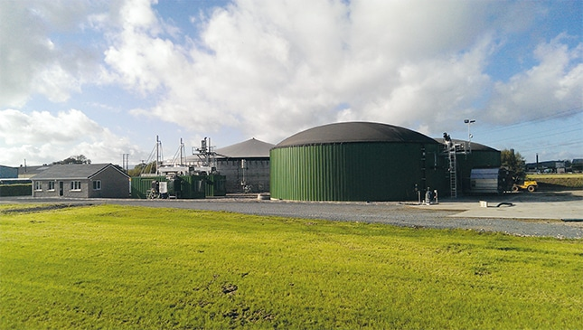 Individual Biogas Plant in Toomebridge, Nordirland