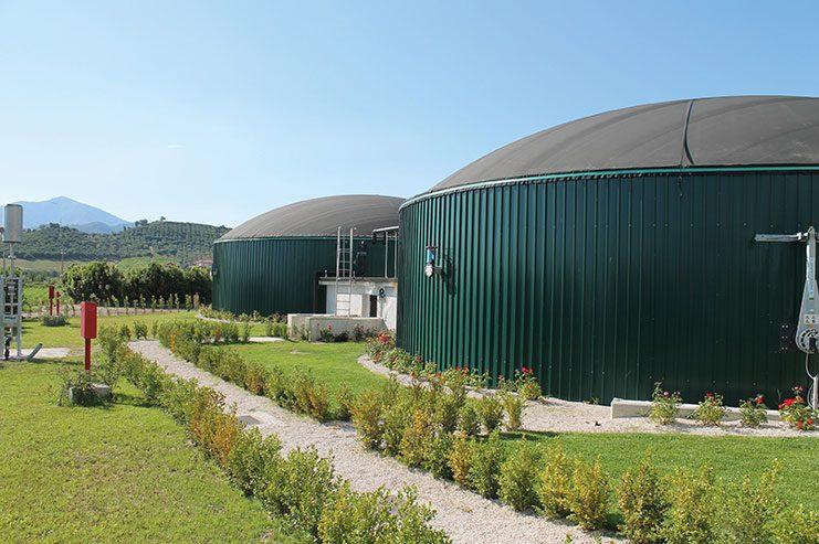 Individual Biogas Plant in Ascea, Salerno, Italien