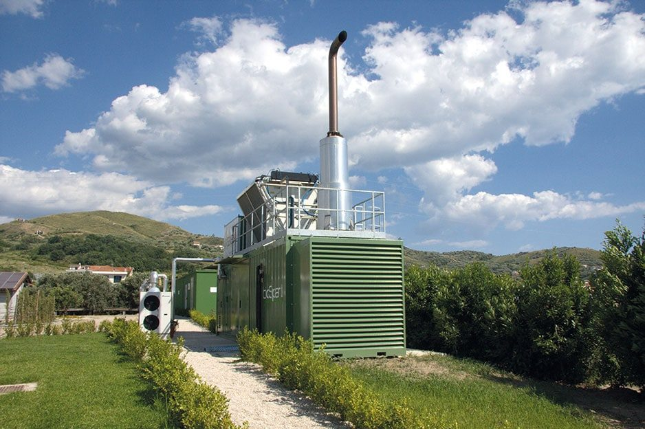 Individual Biogas Plant in Ascrea, Salerno, Italien