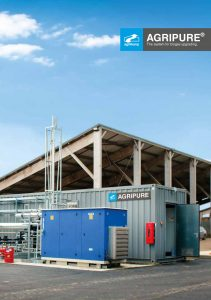 Biomethan agriPure Biogas Aufbereitung brochure cover